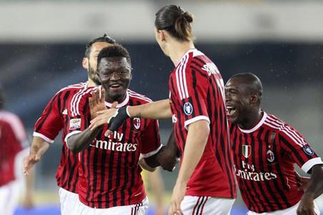 Гол Мунтари принес Милану победу в матче с Кьево