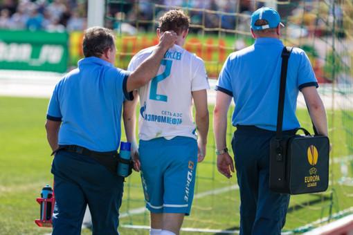 Травма Александра Анюкова сказалась на прочности обороны «Зенита»