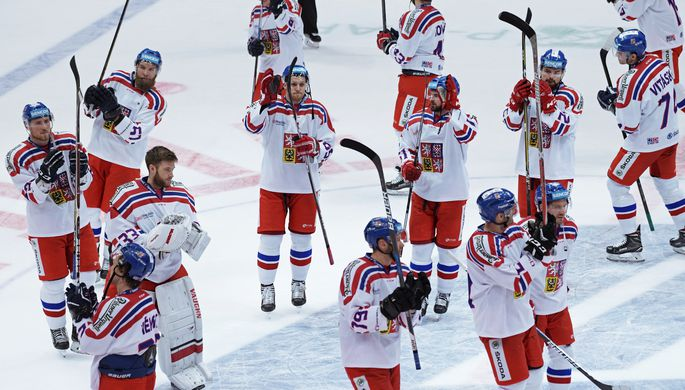 Сборная Чехии обыграла Швецию вматче Кубка Первого канала похоккею