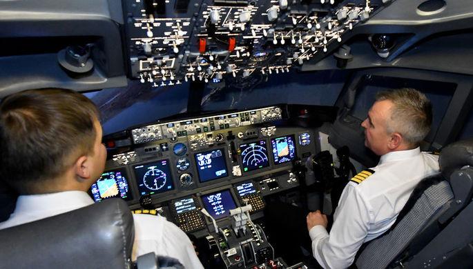 Ан-24 авиакомпании «Якутия» сел споломанным шасси