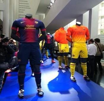 «Барселона» презентовала форму, в которой команда будет выступать в следующем сезоне