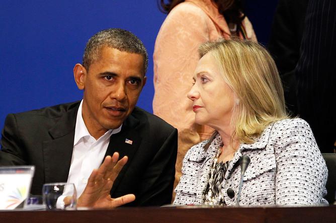 Обама выбирает Хиллари