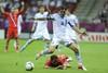 Георгиос Карагунис, ставший героем матча
