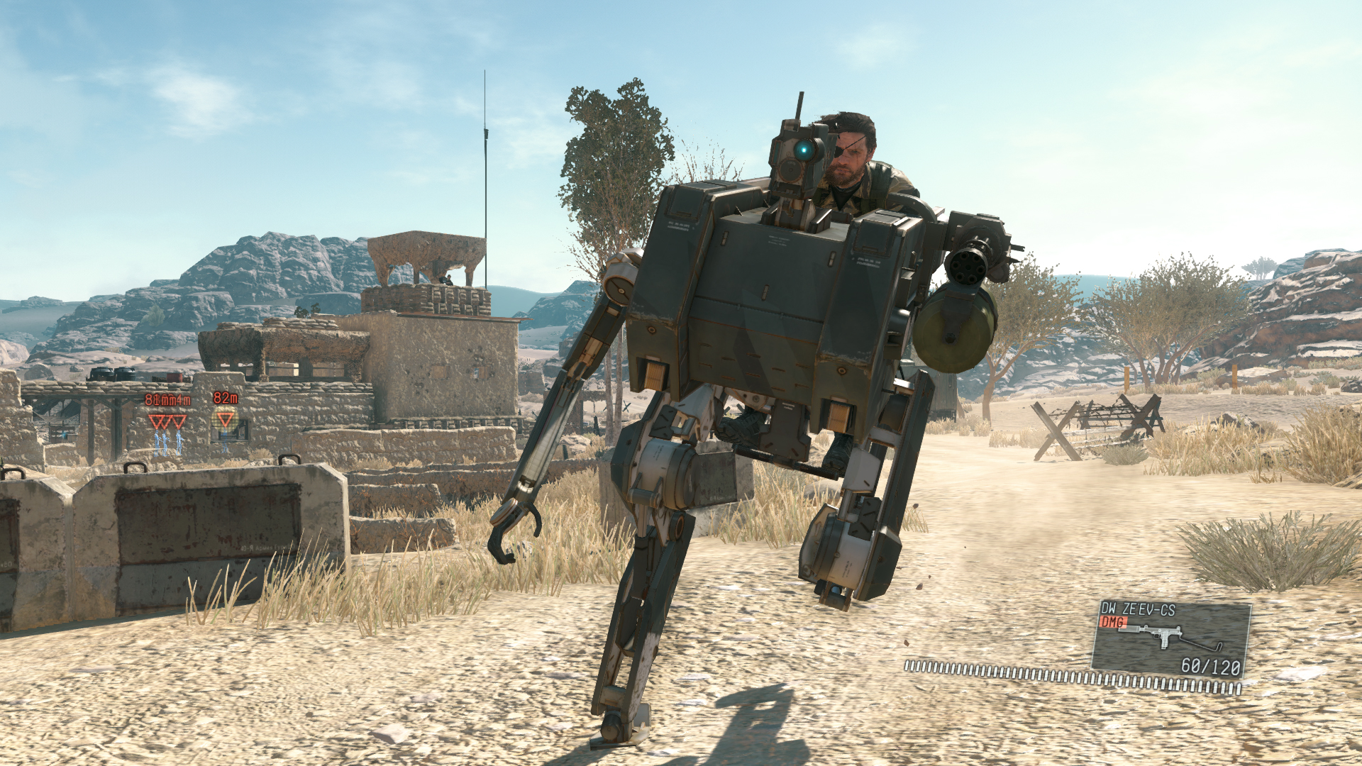 В игре можно выйти и за пределы боевых локаций
