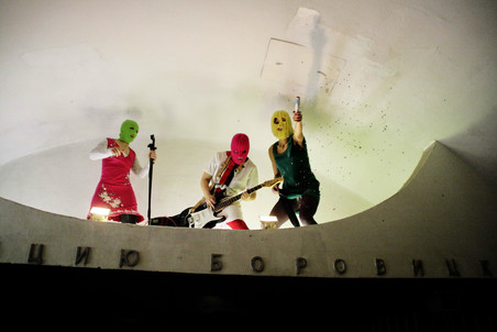 Art and politics are inseparable for us - interview with Pussy Riot — Gazeta.Ru