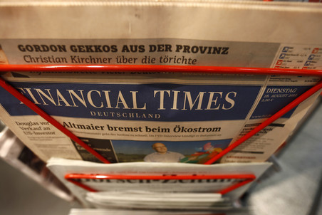 Financial Times сольется с Reuters