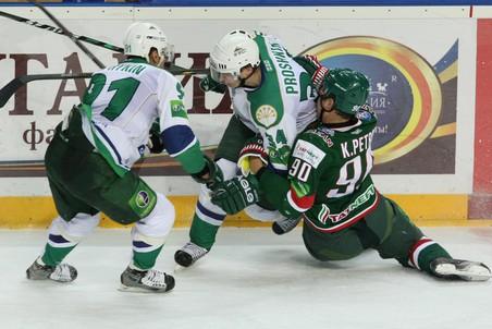 Ак Барс проиграл Салавату Юлаеву в плей-офф КХЛ