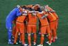 Голландские футболисты перед матчем— проигрывать им нельзя