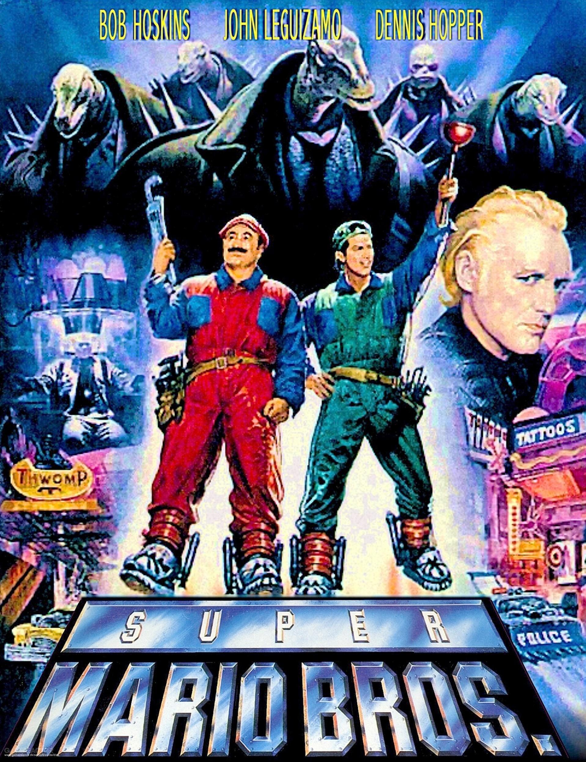 Постер фильма Супербратья Марио // Изображение: gamereactor.it