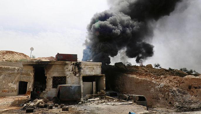 СМИ проинформировали  омощном взрыве вИдлибе