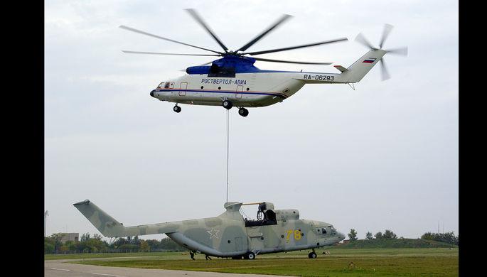 Новый вертолет Ми-26Т2В начнет серийно выпускаться в предстоящем 2019г.