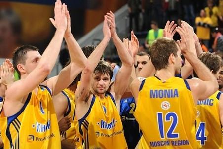 Химки переиграли петербургский Спартак в полуфинале Кубка Европы