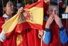 Поклонники испанской команды