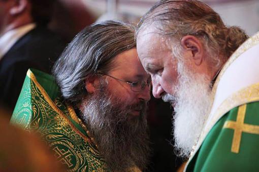 Архимандрит Закхей и патриарх Кирилл