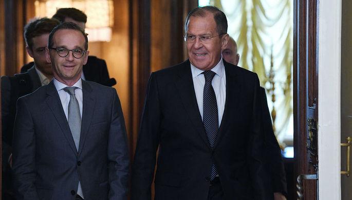 Руководитель МИД ФРГ объявил опрогрессе вотношениях РФ иГермании