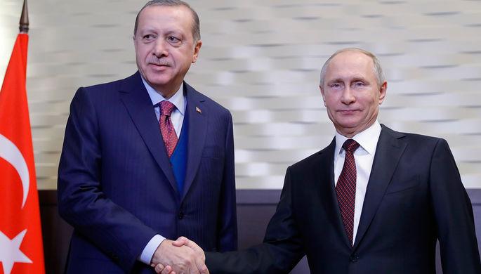 РФ предоставит Турции кредит навоенно-техническое сотрудничество— Путин