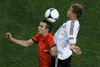 Немцы не дали развернуться лидерам голландской сборной