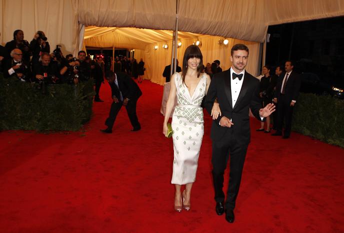 Джастин Тимберлейк и Джессика Бил поженились