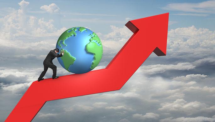 Всамом начале года экономика Российской Федерации увеличилась на1,7 процента