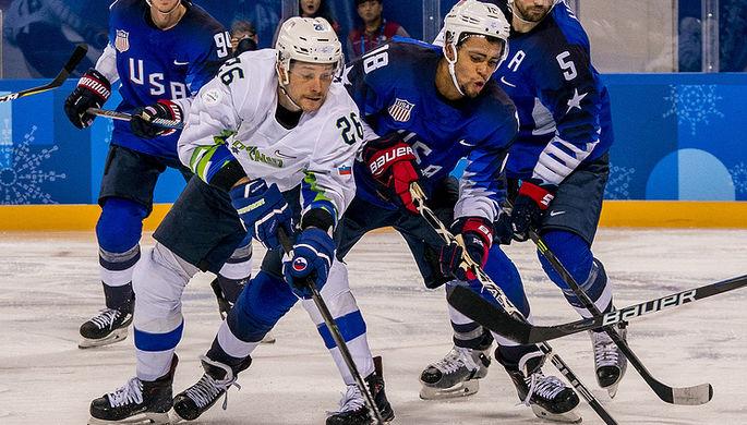 Словения обыграла США вовертайме, уступая всчете 0:2