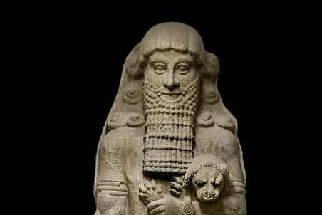 Статуя героя («Гильгамеш»). 8 век до н.э.