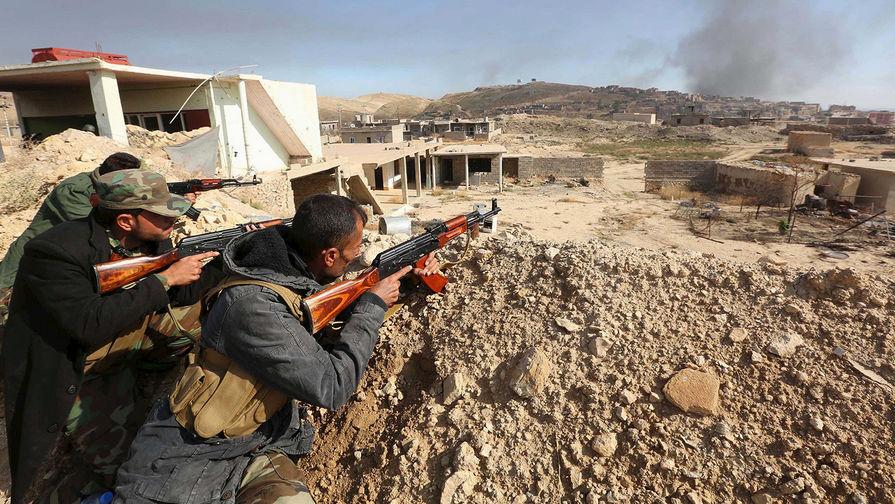 ИГИЛ отступает с песней