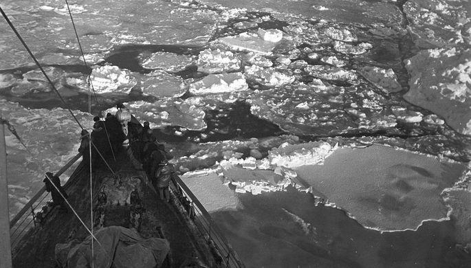 Русский  теплоход со127 пассажирами застрял вольдах близ Японии