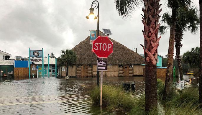 «Русская река» затопила город в Калифорнии