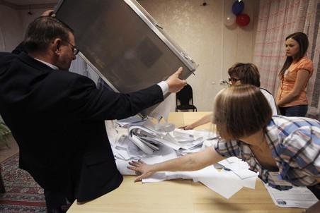 Корреспонденты «Газеты.Ru» понаблюдали за выборами президента России
