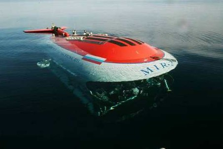 исследовательская подводная лодка мир