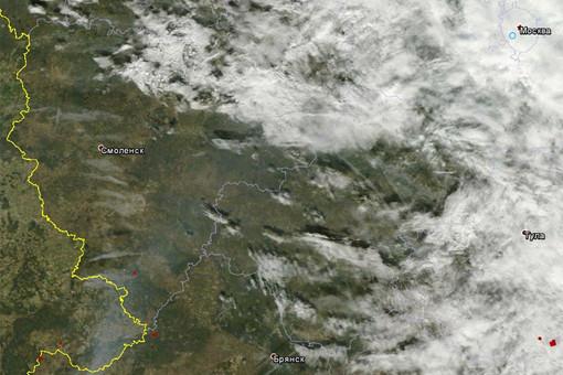 ������ ������ MODIS �������� Terra �������, ��� ��� � ������� ������� ���� � ������ ������������ �������, ����������� � �������� ������� �������� �������