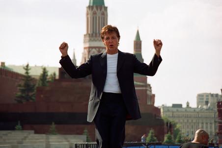 Анонс концерта Пола Маккартни 14 декабря в Москве
