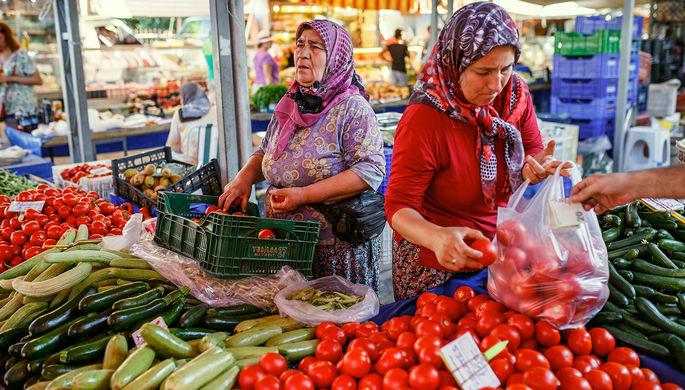 Российская Федерация непланирует поставлять томаты изТурции ранее зимы