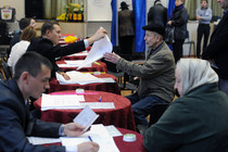 Ruling party dominates regional elections in Russia