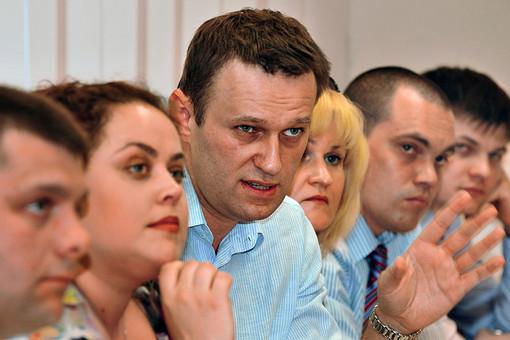 Алексей Навальный на заседании по «делу Кировлеса» 15 мая