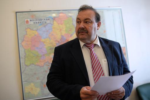 Кандидат на пост губернатора Московской области Геннадий Гудков