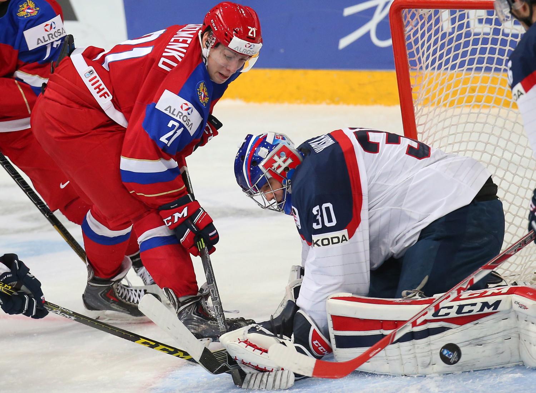 Русские хоккеисты стали первыми вгруппе намолодёжном чемпионате мира