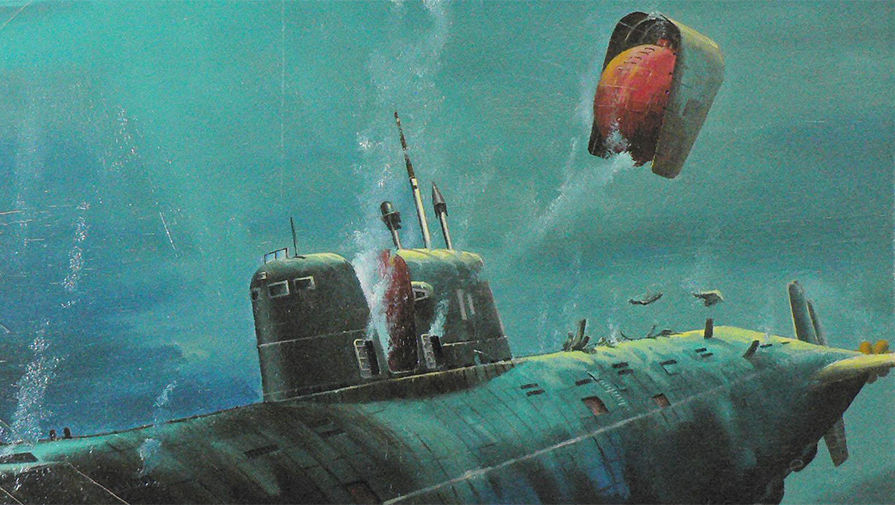 гибель российских подводных лодок