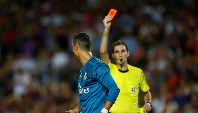 Апелляция «Реала» надисквалификацию Криштиану Роналду отвергнута