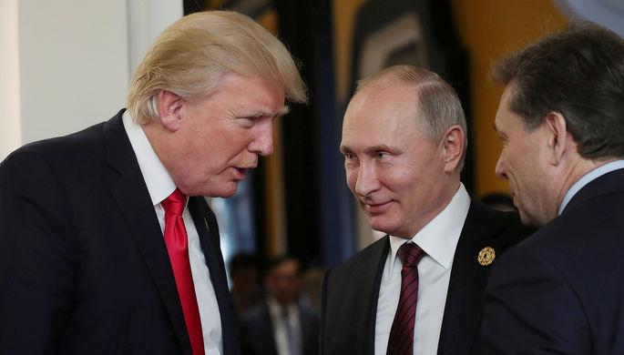 ПосолРФ вВашингтоне одобрил документы подписанные Путиным иТрампом