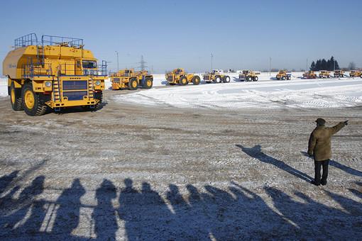 Карьерные грузовики БелАЗ
