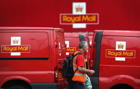 ���������� ������ ������������ ����� ��������� ������ ��� ������������ Royal Mail