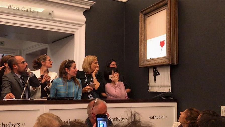 Покупатель изрезанной картины Бэнкси нестанет отменять сделку