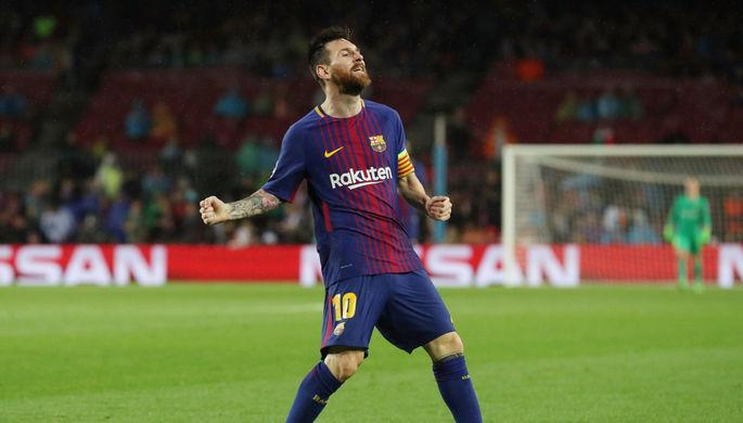 Игрок Барселоны Лионель Месси