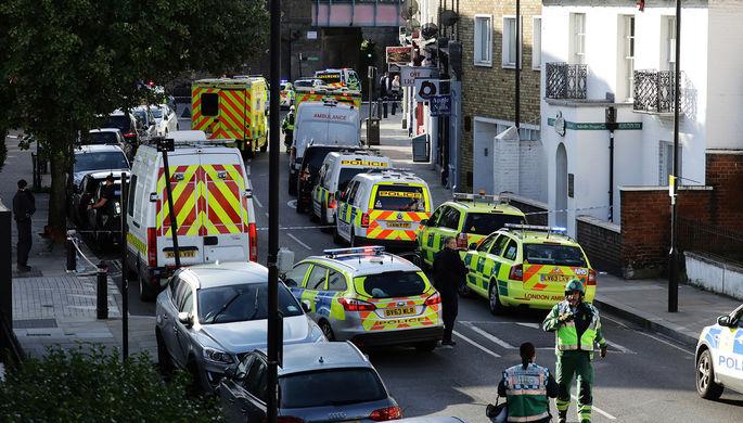 Британская милиция  проводит обыски вграфстве Суррей