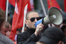 "Udaltsov calls for ""indefinite opposition walks"" in Moscow"