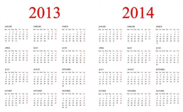 Подставка под ручки с часами календарем