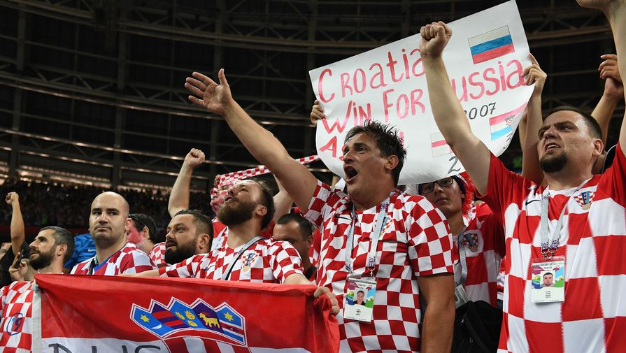 Нафинал ЧМ-2018 приедут около 15 тыс. хорватов