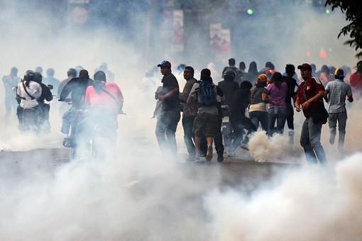 Венесуэльские власти задержали подозреваемого в организации беспорядков