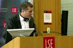 Вице-премьер В. Сурков выступил в Лондонской школе экономики